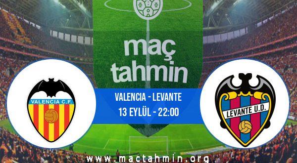 Valencia - Levante İddaa Analizi ve Tahmini 13 Eylül 2020