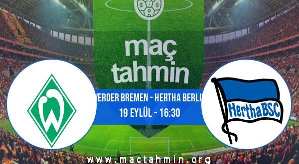 Werder Bremen - Hertha Berlin İddaa Analizi ve Tahmini 19 Eylül 2020