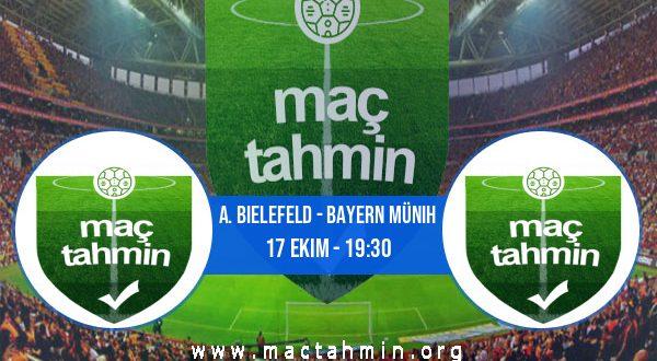 A. Bielefeld - Bayern Münih İddaa Analizi ve Tahmini 17 Ekim 2020