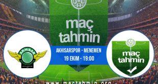 Akhisarspor - Menemen İddaa Analizi ve Tahmini 19 Ekim 2020