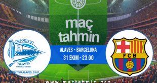 Alaves - Barcelona İddaa Analizi ve Tahmini 31 Ekim 2020