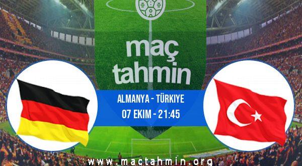 Almanya - Türkiye İddaa Analizi ve Tahmini 07 Ekim 2020