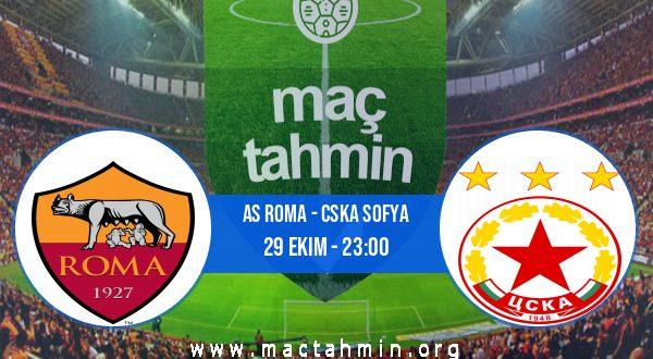 AS Roma - CSKA Sofya İddaa Analizi ve Tahmini 29 Ekim 2020
