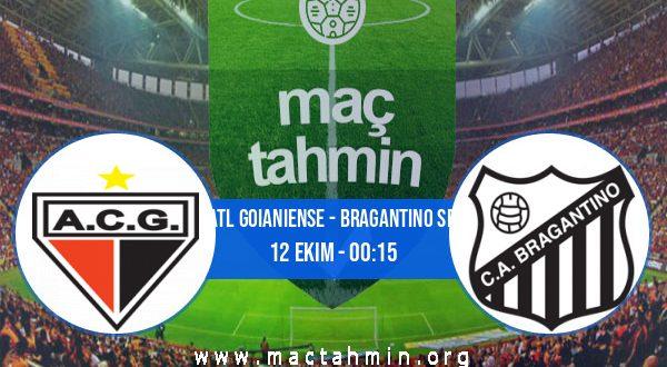 Atl Goianiense - Bragantino SP İddaa Analizi ve Tahmini 12 Ekim 2020