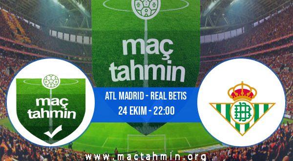 Atl Madrid - Real Betis İddaa Analizi ve Tahmini 24 Ekim 2020