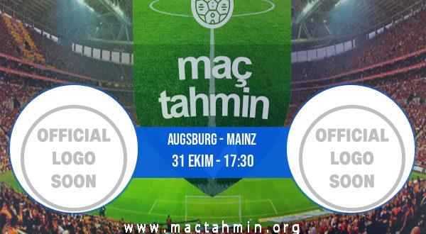 Augsburg - Mainz İddaa Analizi ve Tahmini 31 Ekim 2020