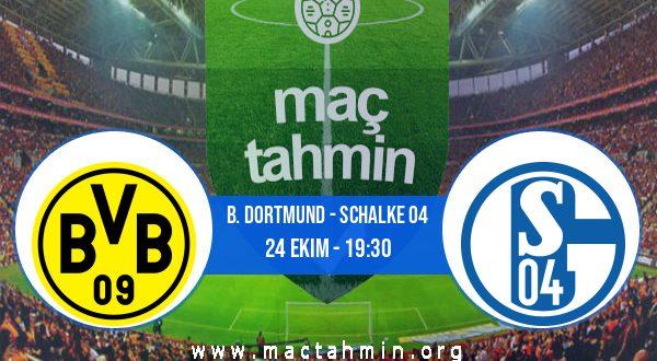 B. Dortmund - Schalke 04 İddaa Analizi ve Tahmini 24 Ekim 2020
