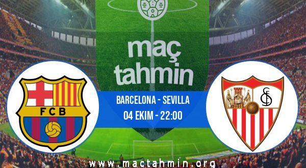 Barcelona - Sevilla İddaa Analizi ve Tahmini 04 Ekim 2020