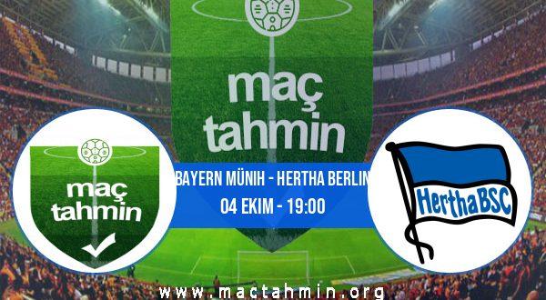 Bayern Münih - Hertha Berlin İddaa Analizi ve Tahmini 04 Ekim 2020