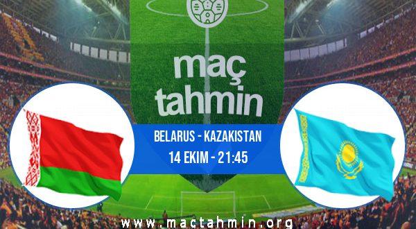 Belarus - Kazakistan İddaa Analizi ve Tahmini 14 Ekim 2020
