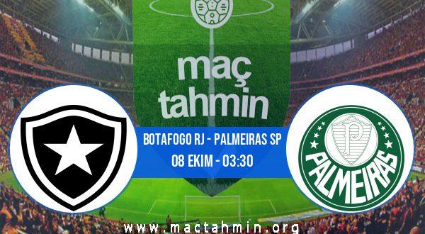 Botafogo RJ - Palmeiras SP İddaa Analizi ve Tahmini 08 Ekim 2020