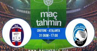 Crotone - Atalanta İddaa Analizi ve Tahmini 31 Ekim 2020