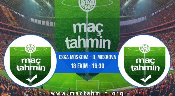 CSKA Moskova - D. Moskova İddaa Analizi ve Tahmini 18 Ekim 2020