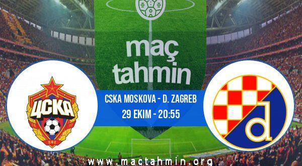 CSKA Moskova - D. Zagreb İddaa Analizi ve Tahmini 29 Ekim 2020