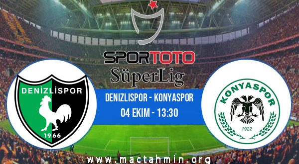 Denizlispor - Konyaspor İddaa Analizi ve Tahmini 04 Ekim 2020