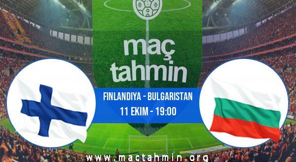 Finlandiya - Bulgaristan İddaa Analizi ve Tahmini 11 Ekim 2020