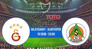 Galatasaray - Alanyaspor İddaa Analizi ve Tahmini 19 Ekim 2020