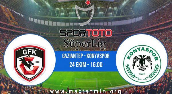Gaziantep - Konyaspor İddaa Analizi ve Tahmini 24 Ekim 2020