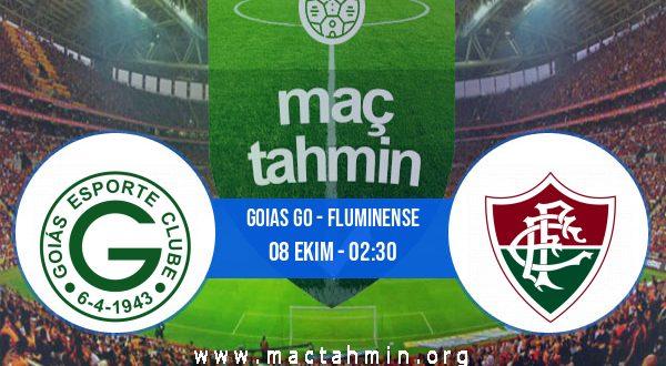 Goias GO - Fluminense İddaa Analizi ve Tahmini 08 Ekim 2020