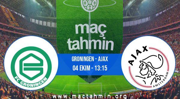 Groningen - Ajax İddaa Analizi ve Tahmini 04 Ekim 2020