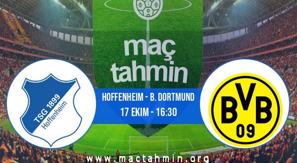 Hoffenheim - B. Dortmund İddaa Analizi ve Tahmini 17 Ekim 2020
