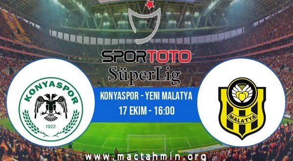 Konyaspor - Yeni Malatya İddaa Analizi ve Tahmini 17 Ekim 2020