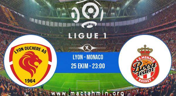 Lyon - Monaco İddaa Analizi ve Tahmini 25 Ekim 2020