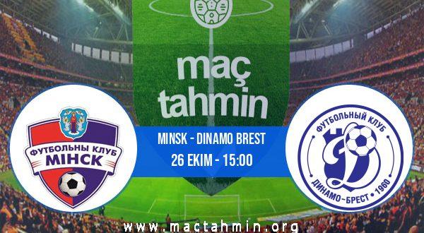 Minsk - Dinamo Brest İddaa Analizi ve Tahmini 26 Ekim 2020