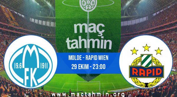 Molde - Rapid Wien İddaa Analizi ve Tahmini 29 Ekim 2020