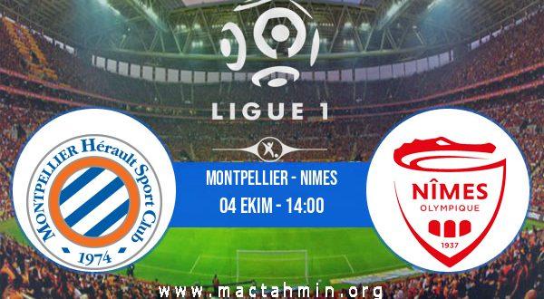 Montpellier - Nimes İddaa Analizi ve Tahmini 04 Ekim 2020