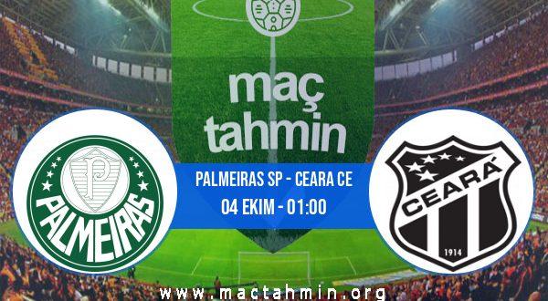 Palmeiras SP - Ceara CE İddaa Analizi ve Tahmini 04 Ekim 2020