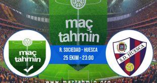 R. Sociedad - Huesca İddaa Analizi ve Tahmini 25 Ekim 2020