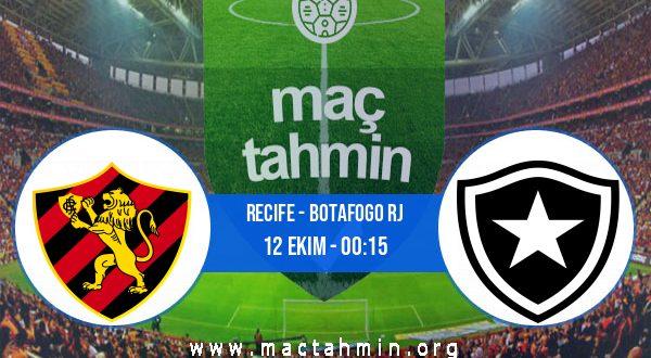 Recife - Botafogo RJ İddaa Analizi ve Tahmini 12 Ekim 2020