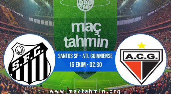 Santos SP - Atl Goianiense İddaa Analizi ve Tahmini 15 Ekim 2020