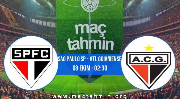 Sao Paulo SP - Atl Goianiense İddaa Analizi ve Tahmini 08 Ekim 2020
