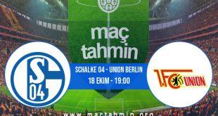 Schalke 04 - Union Berlin İddaa Analizi ve Tahmini 18 Ekim 2020
