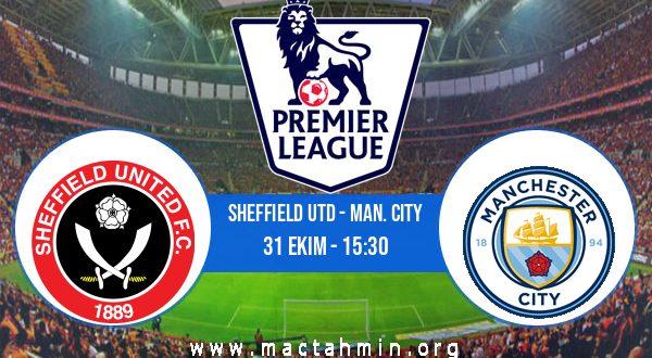 Sheffield Utd - Man. City İddaa Analizi ve Tahmini 31 Ekim 2020