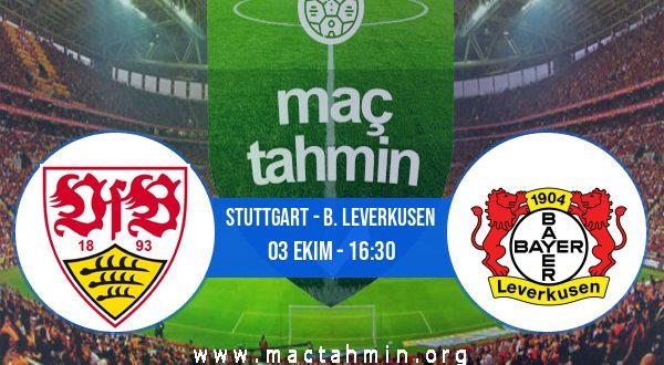 Stuttgart - B. Leverkusen İddaa Analizi ve Tahmini 03 Ekim 2020