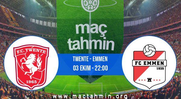 Twente - Emmen İddaa Analizi ve Tahmini 03 Ekim 2020