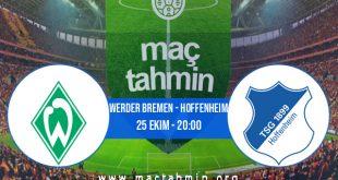 Werder Bremen - Hoffenheim İddaa Analizi ve Tahmini 25 Ekim 2020