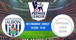 West Bromwich - Burnley İddaa Analizi ve Tahmini 19 Ekim 2020