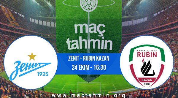 Zenit - Rubin Kazan İddaa Analizi ve Tahmini 24 Ekim 2020