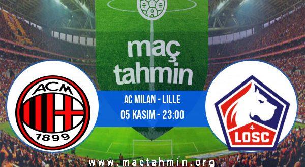 AC Milan - Lille İddaa Analizi ve Tahmini 05 Kasım 2020