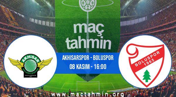 Akhisarspor - Boluspor İddaa Analizi ve Tahmini 08 Kasım 2020