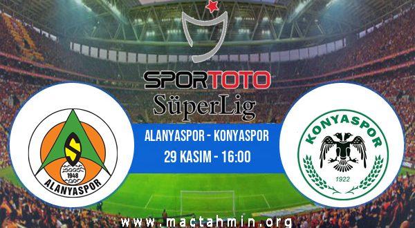 Alanyaspor - Konyaspor İddaa Analizi ve Tahmini 29 Kasım 2020