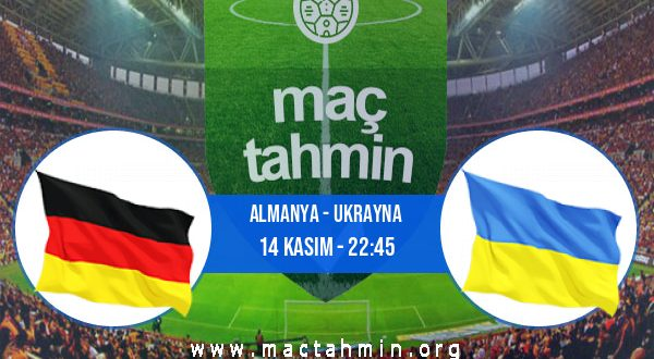 Almanya - Ukrayna İddaa Analizi ve Tahmini 14 Kasım 2020