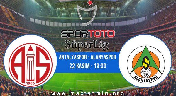 Antalyaspor - Alanyaspor İddaa Analizi ve Tahmini 22 Kasım 2020