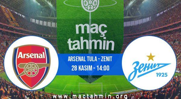 Arsenal Tula - Zenit İddaa Analizi ve Tahmini 28 Kasım 2020