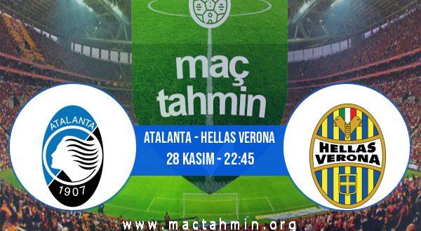 Atalanta - Hellas Verona İddaa Analizi ve Tahmini 28 Kasım 2020