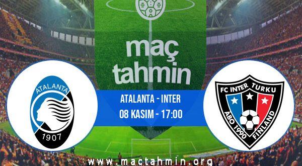 Atalanta - Inter İddaa Analizi ve Tahmini 08 Kasım 2020